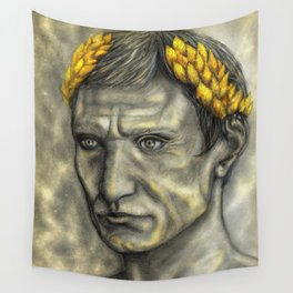 Golden Gaius Wall Tapestry