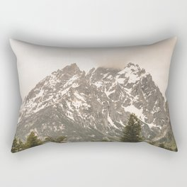 Grand Teton National Park Adventure - Wanderlust Mountains Rectangular Pillow