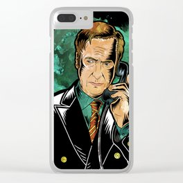 Better Call Saul Clear iPhone Case