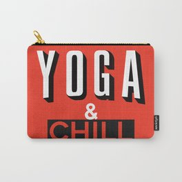Yoga & Chill Carry-All Pouch