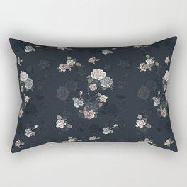 Ghost Roses Rectangular Pillow