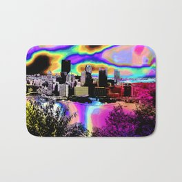 Tripping Bridges Bath Mat