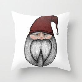 Christmas Gnome Throw Pillow