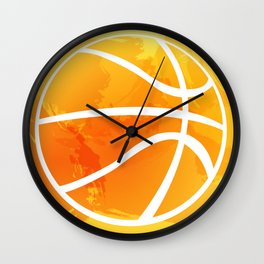 Basket Wall Clock
