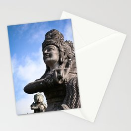 Balinese Statue Stationery Cards