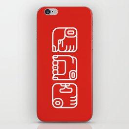 Mayan Glyphs ~ Hands iPhone Skin