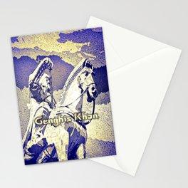 Spirit of the Great Gobi Desert - Genghis Khan Stationery Cards