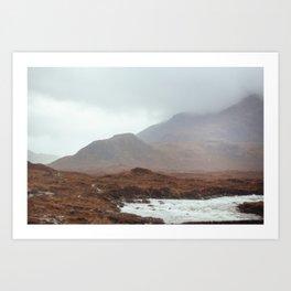 Scottish landscape, I Art Print