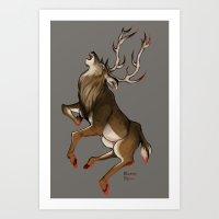 Stag Art Print