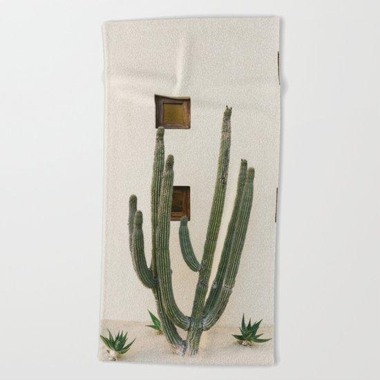Cabo Cactus IX Beach Towel