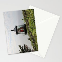 The Red Beacon On Tillamock Bay Stationery Cards