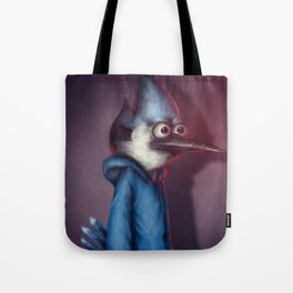 Mordecai from Regular Show Tote Bag
