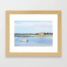 194. House of Water, France Framed Art Print