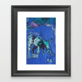Ferdinand the Bull  Framed Art Print