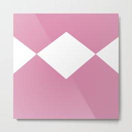 Ranger Power Pink Metal Print