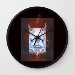 Handsome Devil Wall Clock