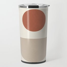 Geometric Modern Art 30 Travel Mug