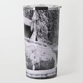 Winter In Lapland Finland Travel Mug