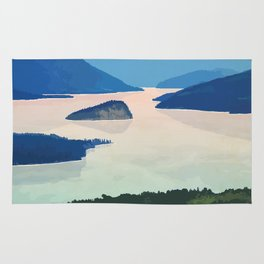 Shuswap Lake Provincial Park Rug