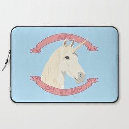 Unicorns Against the Patriarchy Laptop Sleeve