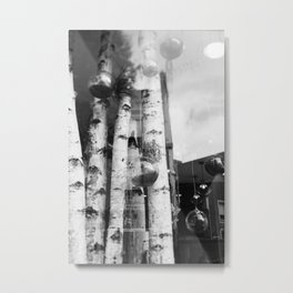 Window Shopping Metal Print