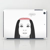 carnage iPad Cases featuring THE FLOWER OF CARNAGE - KILL BILL - MEIKO KAJI by Mirco Greselin