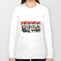 shinee Long Sleeve T-shirts featuring Married to the Music - SHINee by fabisart