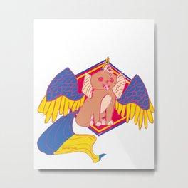 Pegapuppy Metal Print