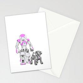 The Dog Walker. (Pink) Stationery Cards