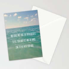 Oceanic Inspiration Stationery Cards
