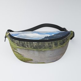 Mountain Bliss in Summer Fanny Pack
