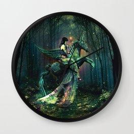 the Each Uisge - Prince of Waterhorses Wall Clock