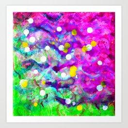 Color box 84 Art Print