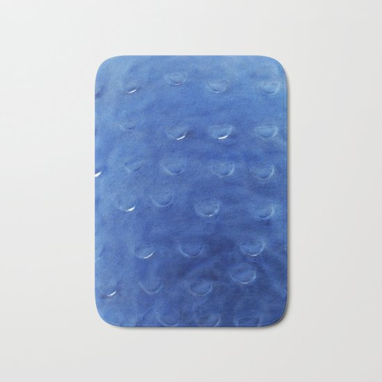 Lake Blue Scale Bath Mat