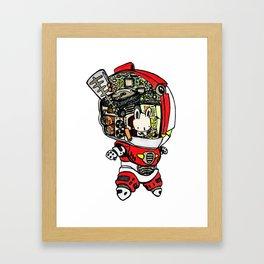 Robo Rabbit Framed Art Print