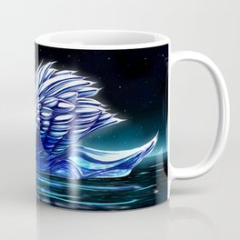 Midnight Swan Lake Coffee Mug