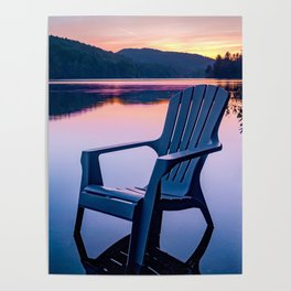 Sunsets & Summer Nights at the Cottage Poster
