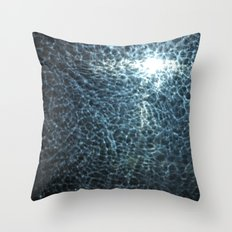 Design By Water Throw Pillow