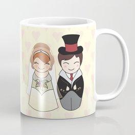 Kokeshis Just married Coffee Mug