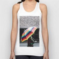 umbrella Tank Tops featuring umbrella by Deviens