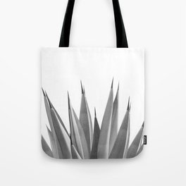 Gray Agave Dream #1 #tropical #decor #art #society6 Tote Bag