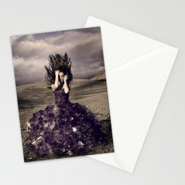 Attached to earth Stationery Cards