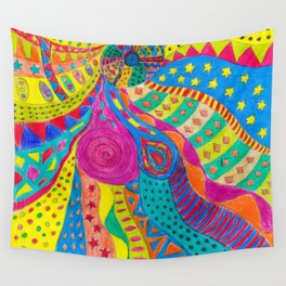 Life in Colors Wall Tapestry