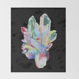 Aqua Aura Throw Blanket