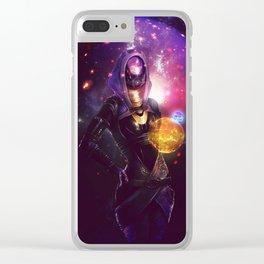 Tali'Zorah vas Normandy (Mass Effect) Art Clear iPhone Case
