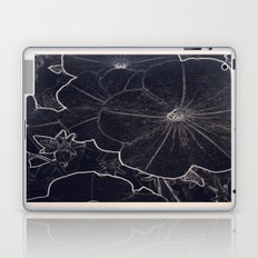 Dark Flowers Laptop & iPad Skin