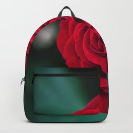 Romantic Red Rose Backpack