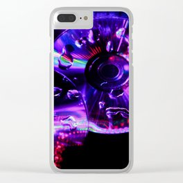 CD lighting Clear iPhone Case