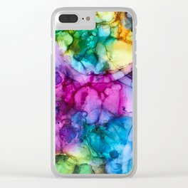 Yay Friday Clear iPhone Case