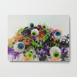 A fun photo of Halloween gifts for trick-or-treating Metal Print